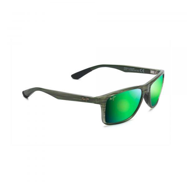 Onshore Maui Jim Sunglasses Green - Side View