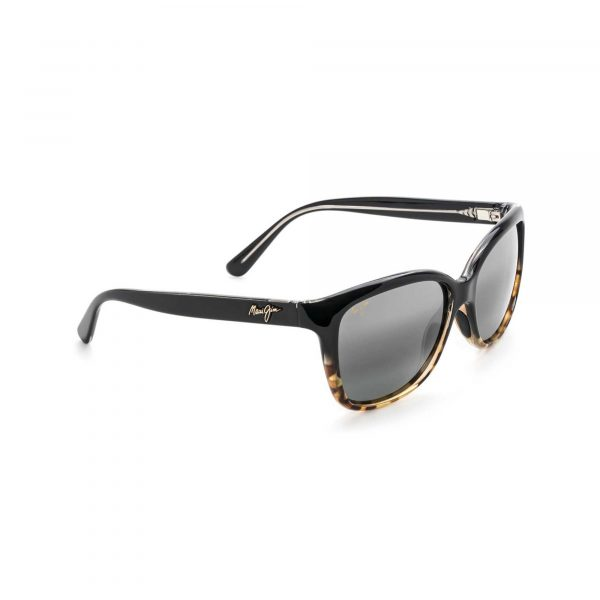 Starfish Maui Jim Sunglasses Black Gold Tortoise - Side View