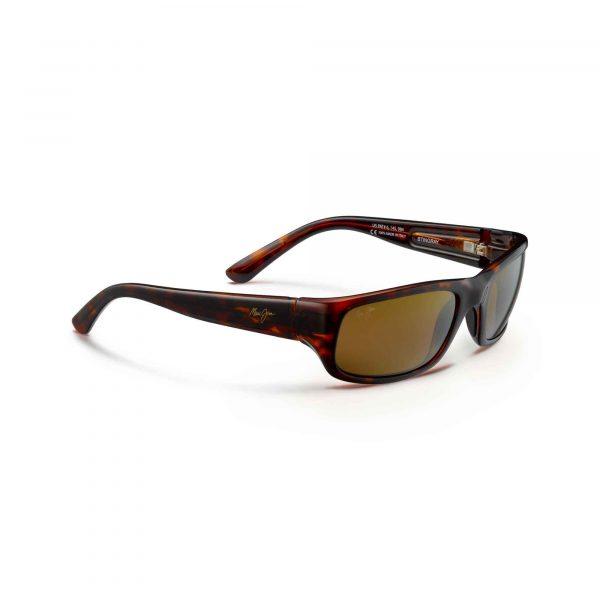 Stingray Maui Jim Sunglasses Tortoise Shell - Side View
