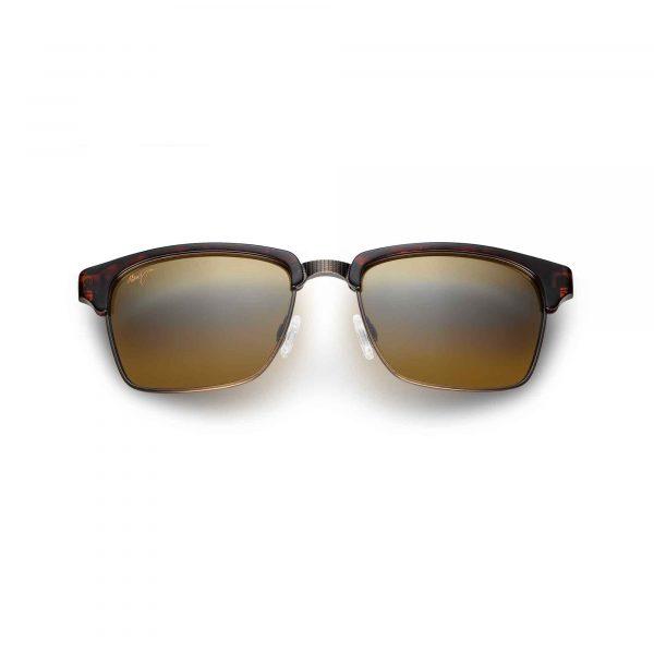 Kawika Maui Jim Sunglasses Tortoise Shell - Front View