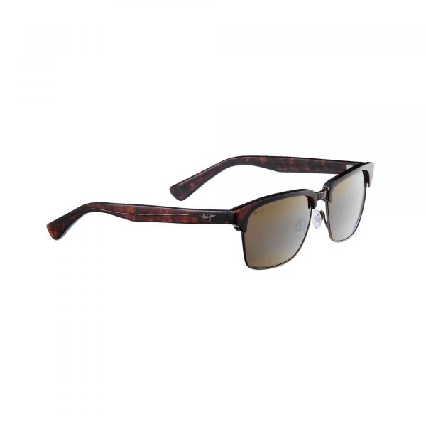 Kawika Maui Jim Sunglasses Tortoise Shell - Side View