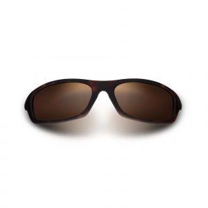 Kipahulu Maui Jim Sunglasses Tortoise Shell - Front View