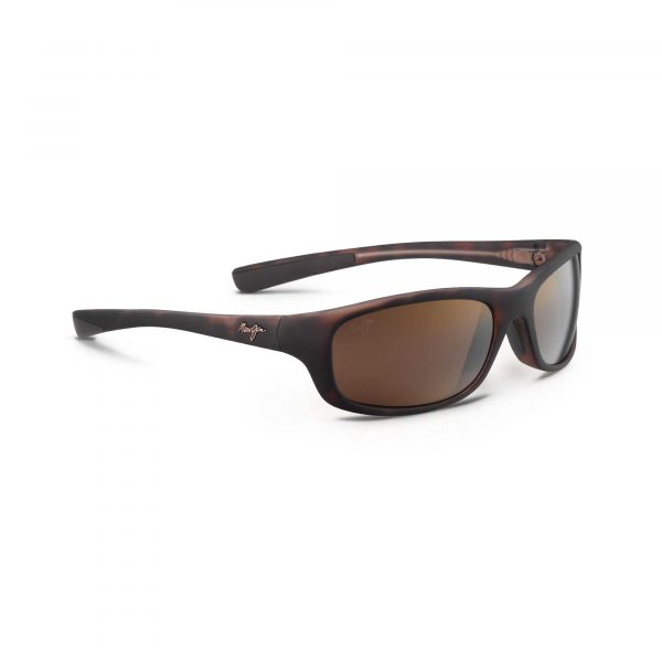 Kipahulu Maui Jim Sunglasses Brown - Side View