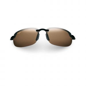 Hookipa Maui Jim Sunglasses Brown Lens - Front View