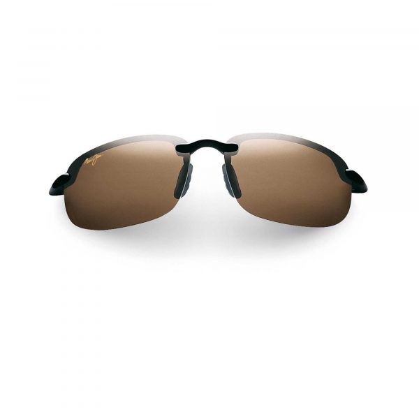 Hookipa Maui Jim Sunglasses Brown Lens - Front View