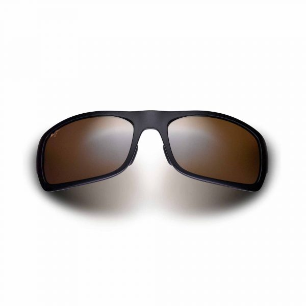 Haleakala Maui Jim Sunglasses Black - Front View