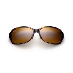 Koki Beach Maui Jim Sunglasses Olive Tortoise - Front View