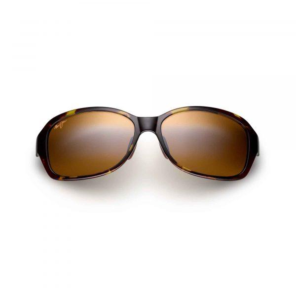 Koki Beach Maui Jim Sunglasses Olive Tortoise - Front View