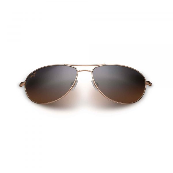 Baby Beach Maui Jim Sunglasses Gold - Front View