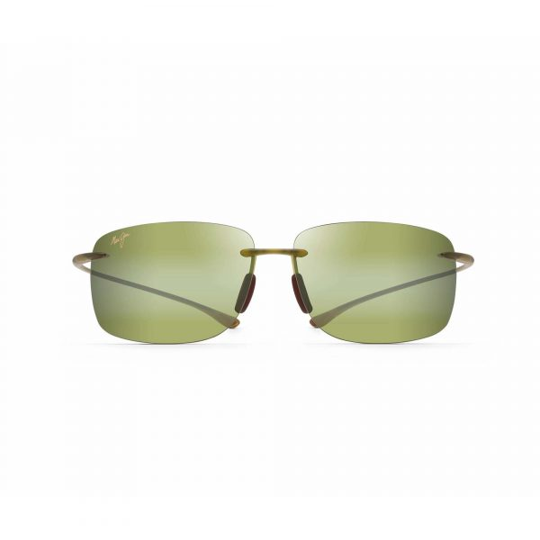 Hema Maui Jim Sunglasses Olive - Front View