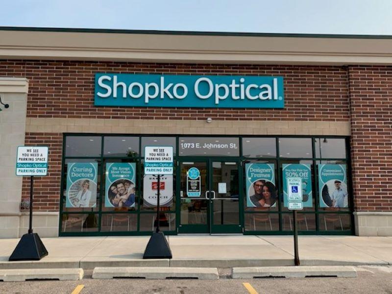 storefront 232 - Fond Du Lac Shopko Optical