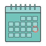 Important dates graphic