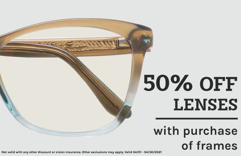 Maui Jim glasses- 50% off lenses with purchase of frames