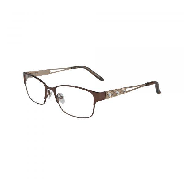 Bulova Brown Taylor - Eyeglasses - Left