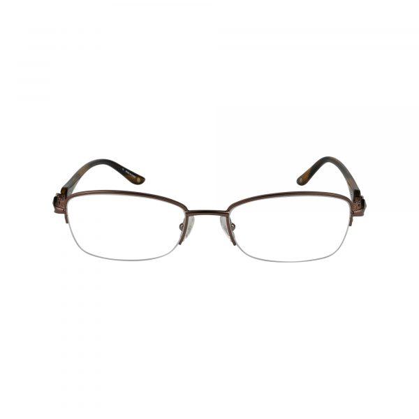 Bulova Brown Avignon - Eyeglasses - Front
