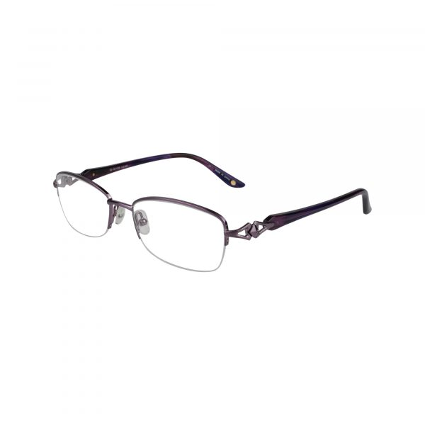 Bulova Purple Avignon - Eyeglasses - Left