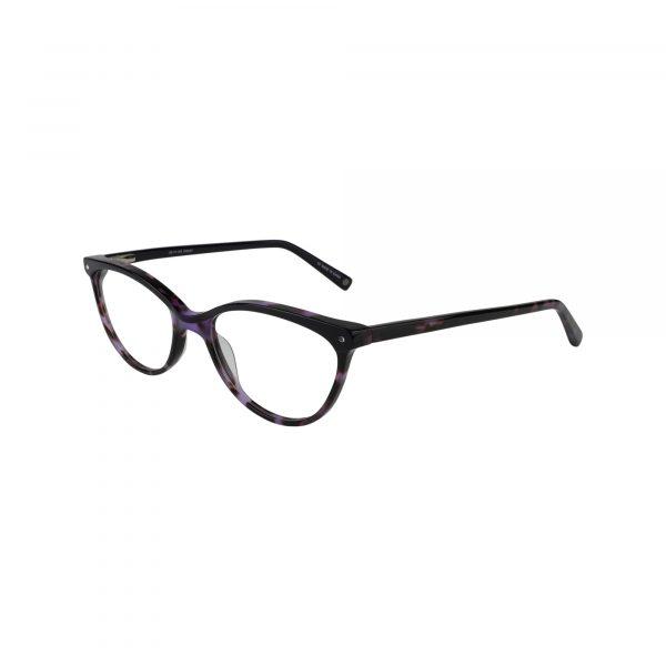 Bulova Purple Newport - Eyeglasses - Left