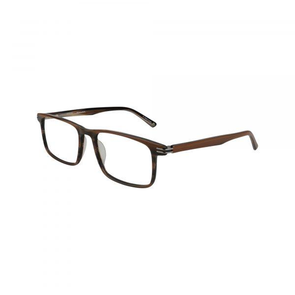 Bulova Brown Levante - Eyeglasses - Left