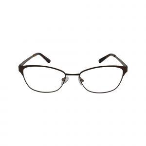 Bulova Brown Twist Trinity - Eyeglasses - Front