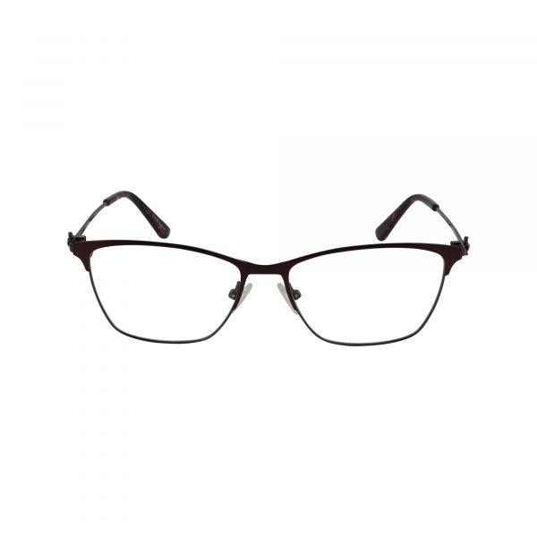 Bulova Red Twist Waterford - Eyeglasses - Front
