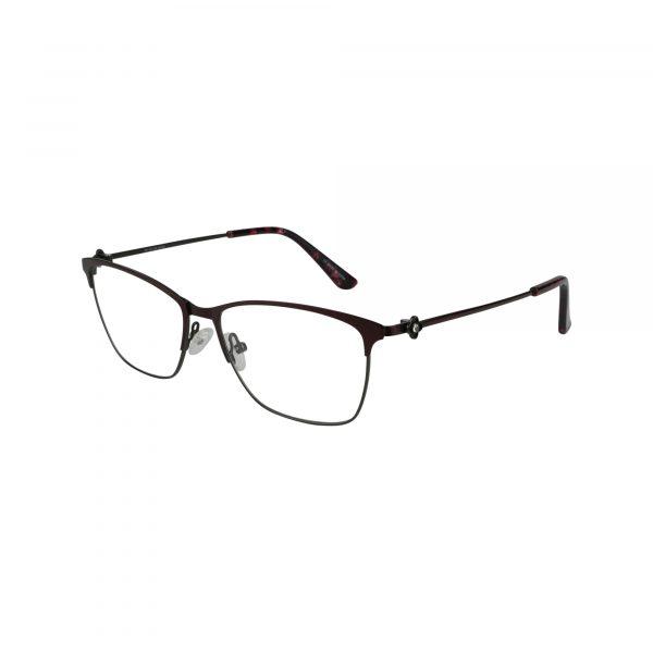 Bulova Red Twist Waterford - Eyeglasses - Left