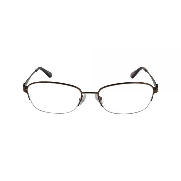Bulova Brown Twist Flagami - Eyeglasses - Front