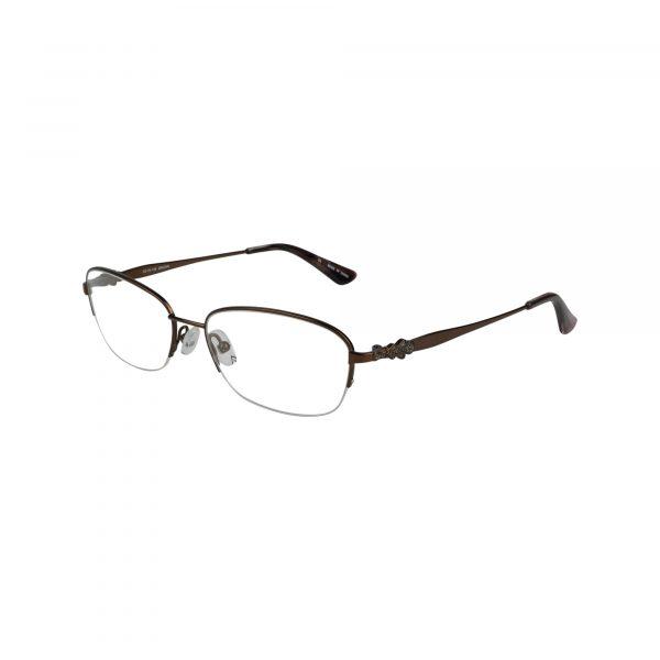 Bulova Brown Twist Flagami - Eyeglasses - Left