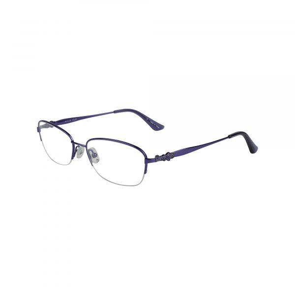Bulova Purple Twist Flagami - Eyeglasses - Left