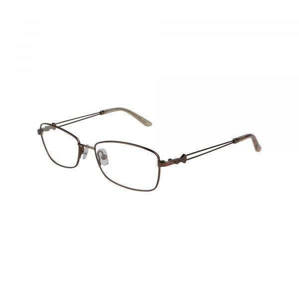 Bulova Brown Twist Bella Vista - Eyeglasses - Left