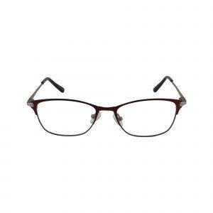 Bulova Red Twist Kumasi - Eyeglasses - Front