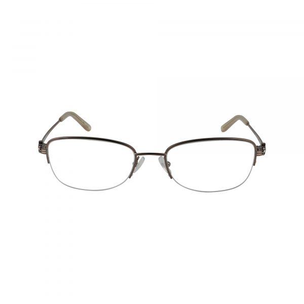 Bulova Brown Twist Ashburn - Eyeglasses - Front