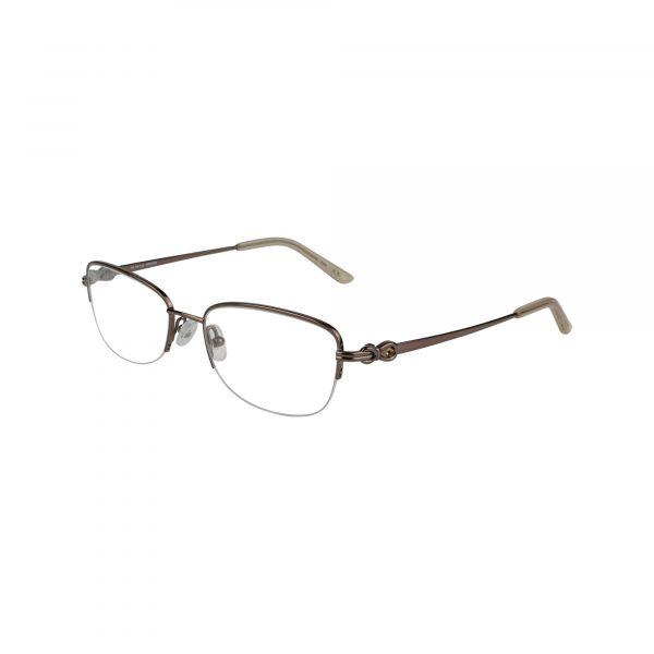 Bulova Brown Twist Ashburn - Eyeglasses - Left