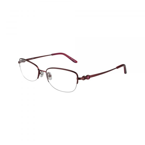 Bulova Red Twist Ashburn - Eyeglasses - Left