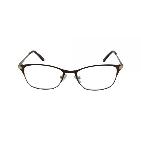 Bulova Brown Twist Kumasi - Eyeglasses - Front
