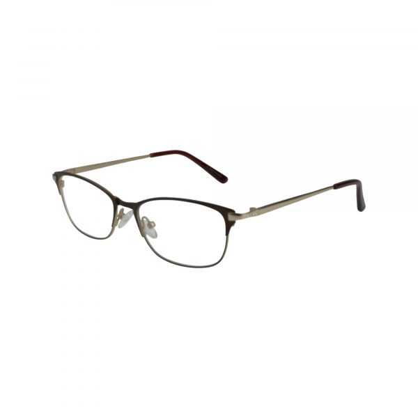 Bulova Brown Twist Kumasi - Eyeglasses - Left