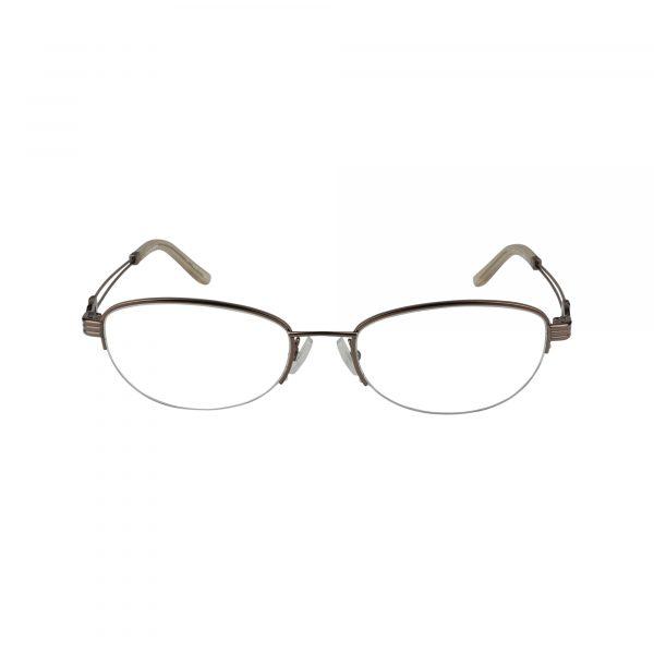 Bulova Brown Twist Brielle - Eyeglasses - Front