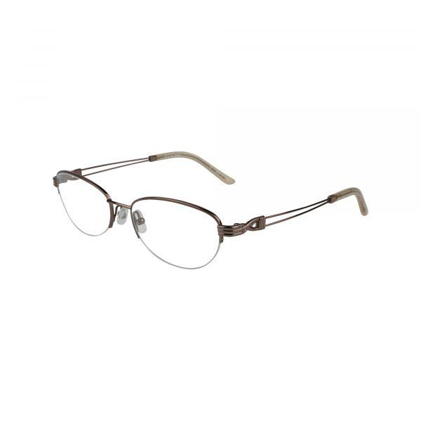 Bulova Brown Twist Brielle - Eyeglasses - Left