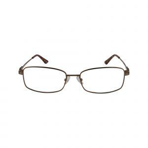 Bulova Brown Twist Foxtown - Eyeglasses - Front