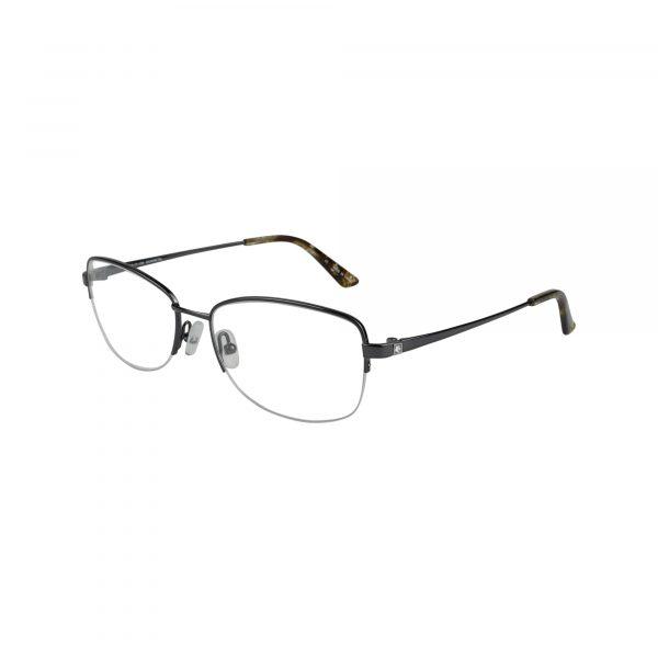 Bulova Gunmetal Twist Harmonie Park - Eyeglasses - Left