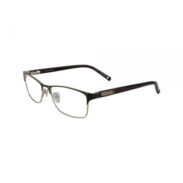 Bulova Brown Claremont - Eyeglasses - Left