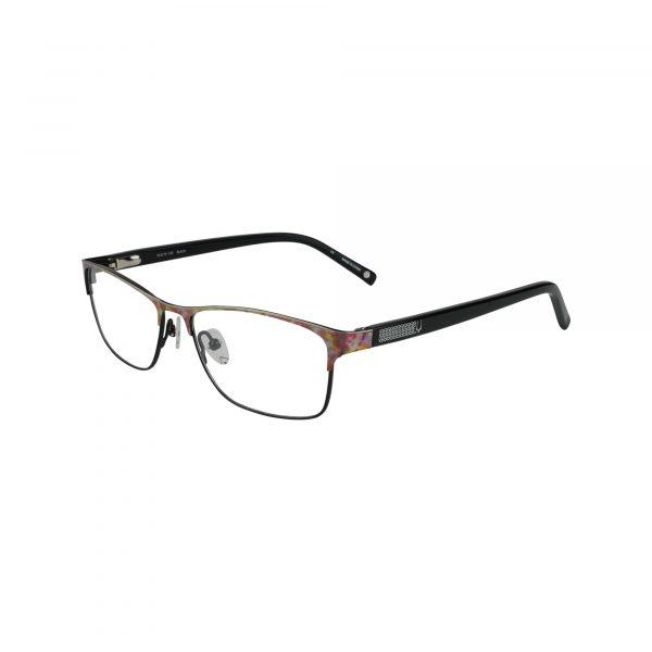 Bulova Black Claremont - Eyeglasses - Left