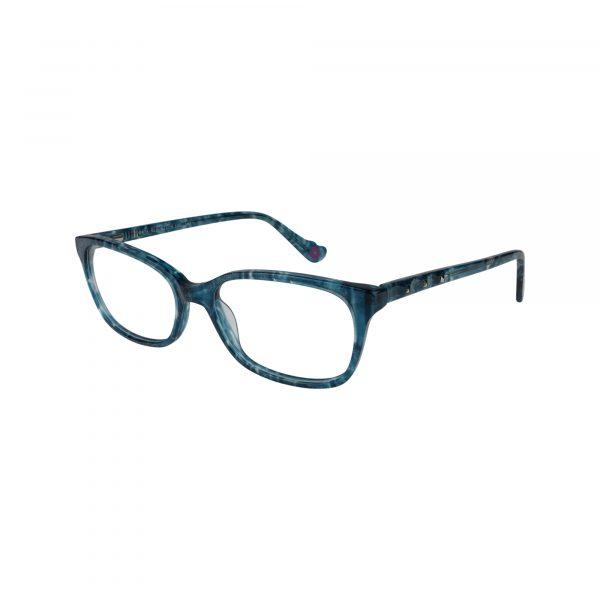 Hot Kiss Blue HK74 - Eyeglasses - Left