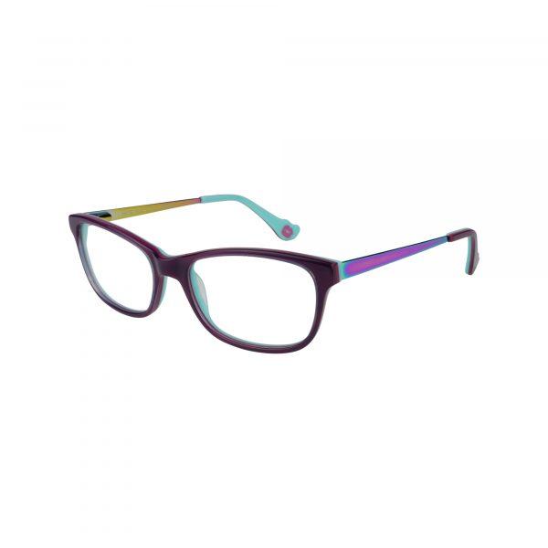 Hot Kiss Purple HK76 - Eyeglasses - Left