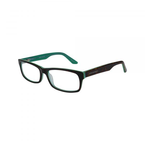 Fregossi Green 402 - Eyeglasses - Left