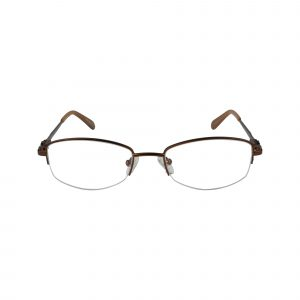 Fregossi Brown 602 - Eyeglasses - Front