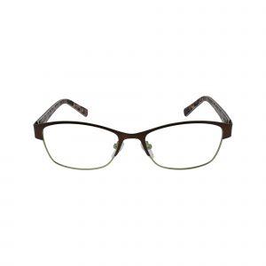 Fregossi Brown 651 - Eyeglasses - Front