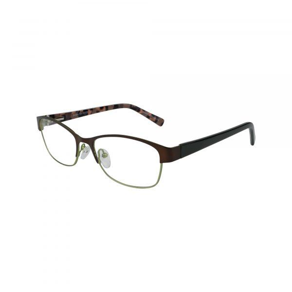 Fregossi Brown 651 - Eyeglasses - Left