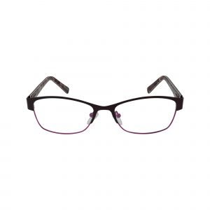 Fregossi Purple 651 - Eyeglasses - Front
