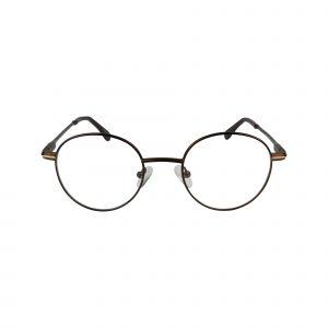 Fregossi Brown 662 - Eyeglasses - Front