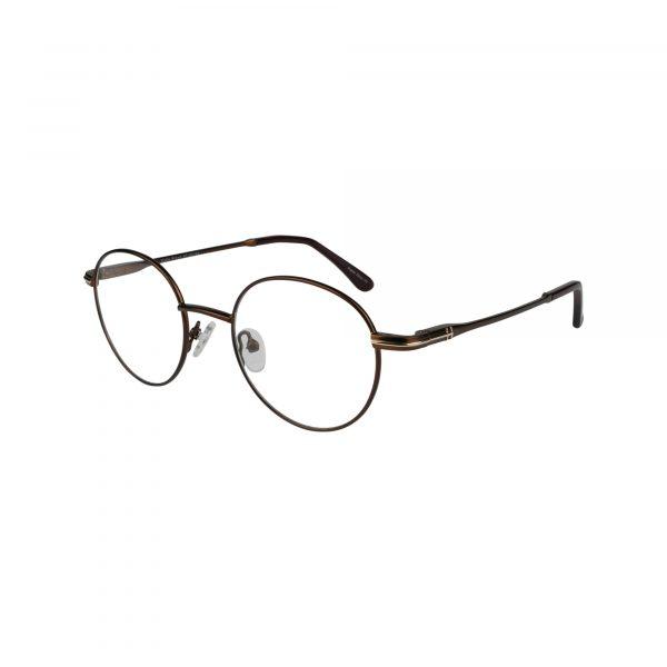 Fregossi Brown 662 - Eyeglasses - Left